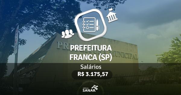 Prefeitura de Franca (SP) publica edital com vagas para Enfermeiros e Veterinários