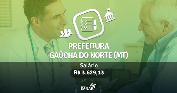 Prefeitura de Gaúcha do Norte (MT): edital publicado com vagas para Nutricionistas