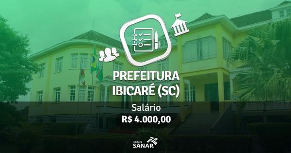 Prefeitura de Ibicaré (SC): edital publicado com vaga para Farmacêutico