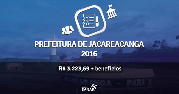 Prefeitura de Jacareacanga abre concurso para Enfermeiros, Nutricionistas e muito mais