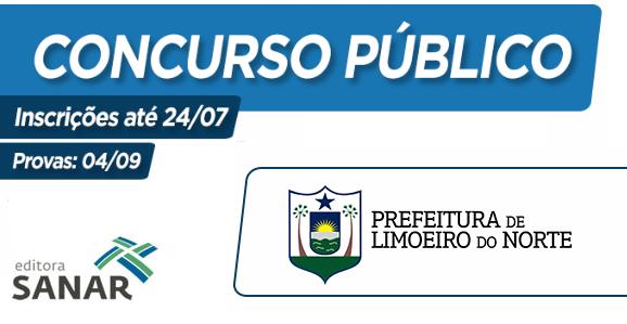 Prefeitura de Limoeiro do Norte (CE) divulga concurso público, vagas entre R$3.000 e R$12.000