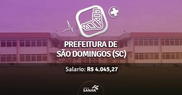 Prefeitura de São Domingos abre concurso com vagas para Fisioterapeutas