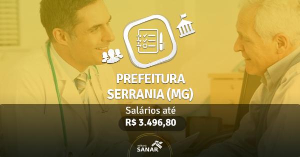 Prefeitura de Serrania (MG): edital publicado com vagas para Dentistas e Farmacêuticos