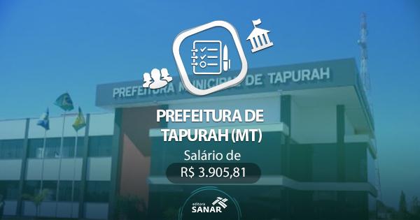 Concurso Prefeitura de Tapurah (MT) 2017: edital divulgado com vagas em Enfermagem, Nutrição, Odontologia e Farmácia