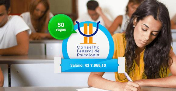 CFP abre concurso público para Psicólogos