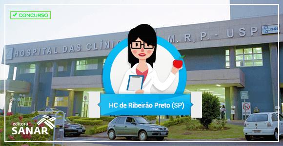 Hospital das Clínicas de Ribeirão Preto (USP) abre concurso para Nutricionistas