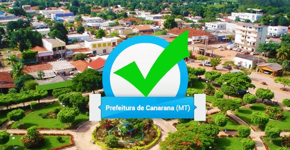 Prefeitura de Canarana (MT) abre concurso público para diversas áreas da Saúde