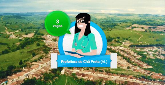 Prefeitura de Chã Preta (AL) abre concurso público para Enfermeiros