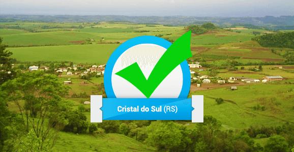 Prefeitura de Cristal do Sul (RS) abre concurso público para dentistas e fisioterapeutas