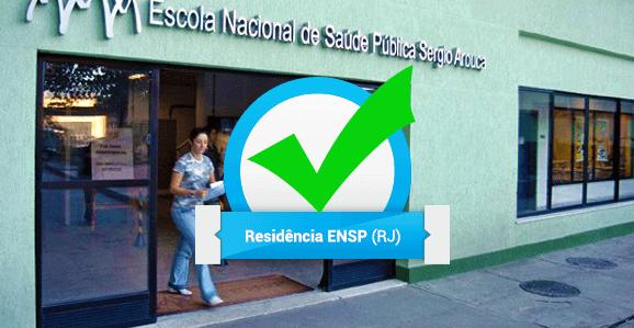 ENSP (Fiocruz) abre seleção para Residência Multiprofissional