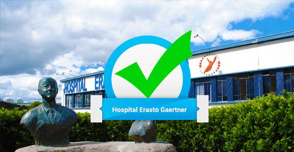 Hospital Erasto Gaertner abre seleção para Programas de Residência