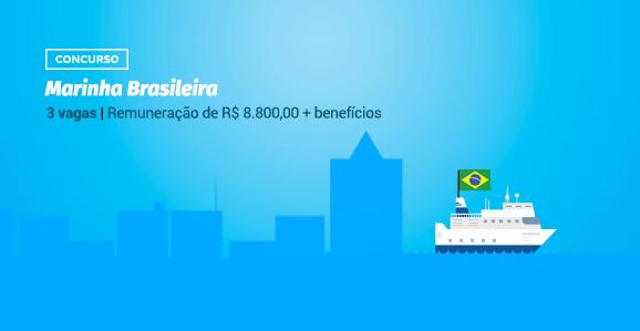 Marinha Brasileira abre concurso para Farmacêuticos