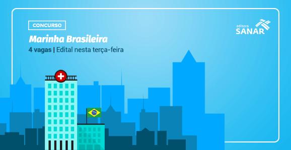 Marinha do Brasil publica edital para profissionais da Saúde
