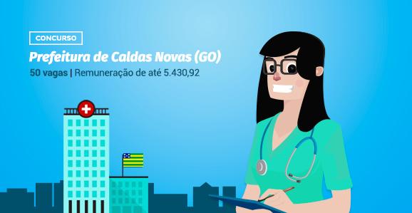 Prefeitura de Caldas Novas (GO) abre concurso público