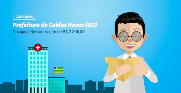 Prefeitura de Caldas Novas (GO) abre concurso público para Psicólogos