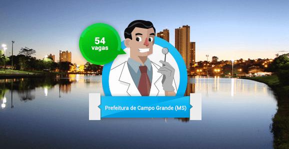 Prefeitura de Campo Grande (MS) abre concurso público para Dentistas