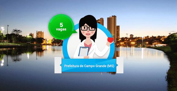Prefeitura de Campo Grande (MS) abre concurso público para Nutricionistas