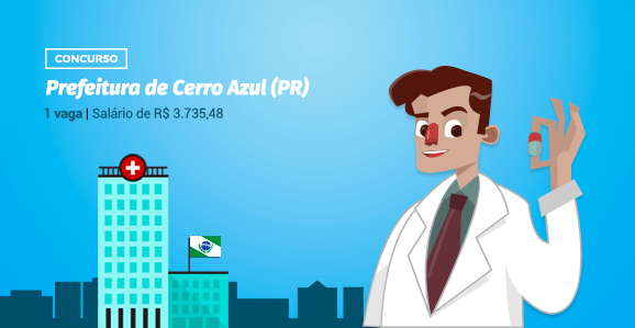 Prefeitura de Cerro Azul (PR) abre concurso público para Farmacêutiicos
