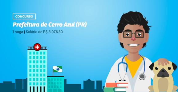 Prefeitura de Cerro Azul (PR) abre concurso público para Veterinários