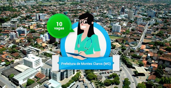 Prefeitura de Montes Claros (MG) abre concurso público para Enfermeiros