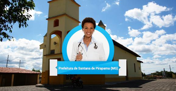 Prefeitura de Santana de Pirapama (MG) abre concurso público para Médicos