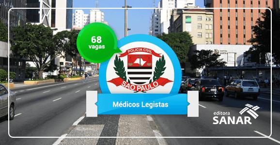 Polícia Civil de São Paulo planeja concurso público com 68 vagas para Médicos Legistas