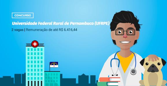 UFRPE (PE) abre concurso público para Veterinários