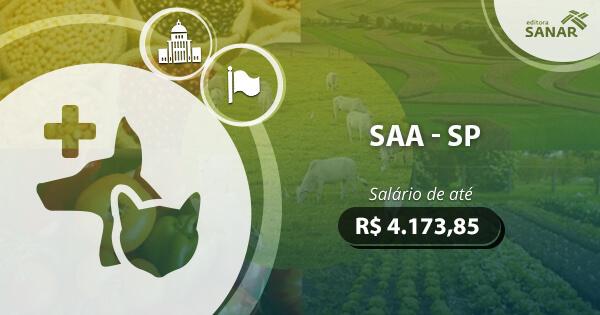 Concurso Secretaria Estatual de Agricultura e Abastecimento (SP) 2017: edital a ser lançado