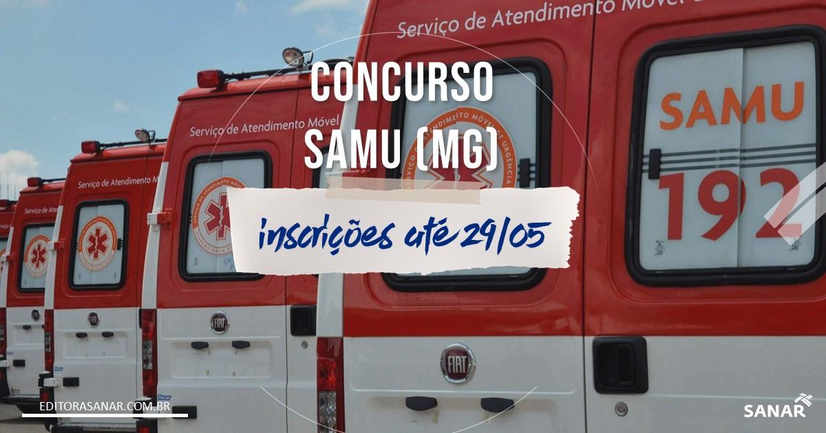 Concurso SAMU - MG: vagas para Médicos e Enfermeiros!