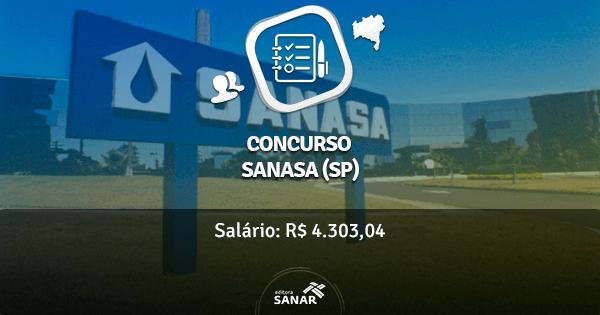 Concurso SANASA de Campinas-SP 2016 tem vagas para Médicos do Trabalho e Psicólogos