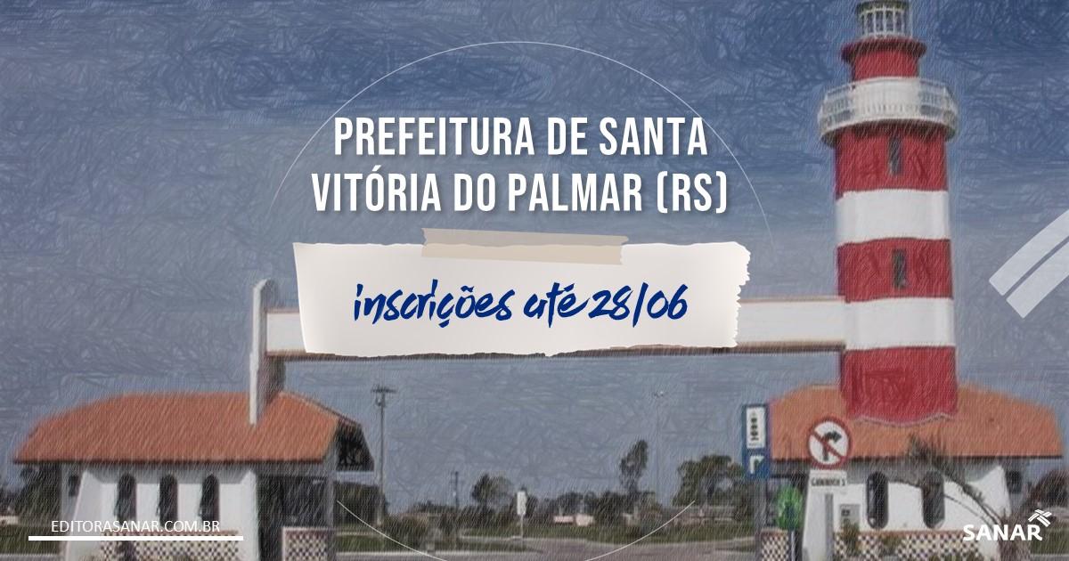 Concurso de Santa Vitória do Palmar - RS: vagas para a área da Saúde!