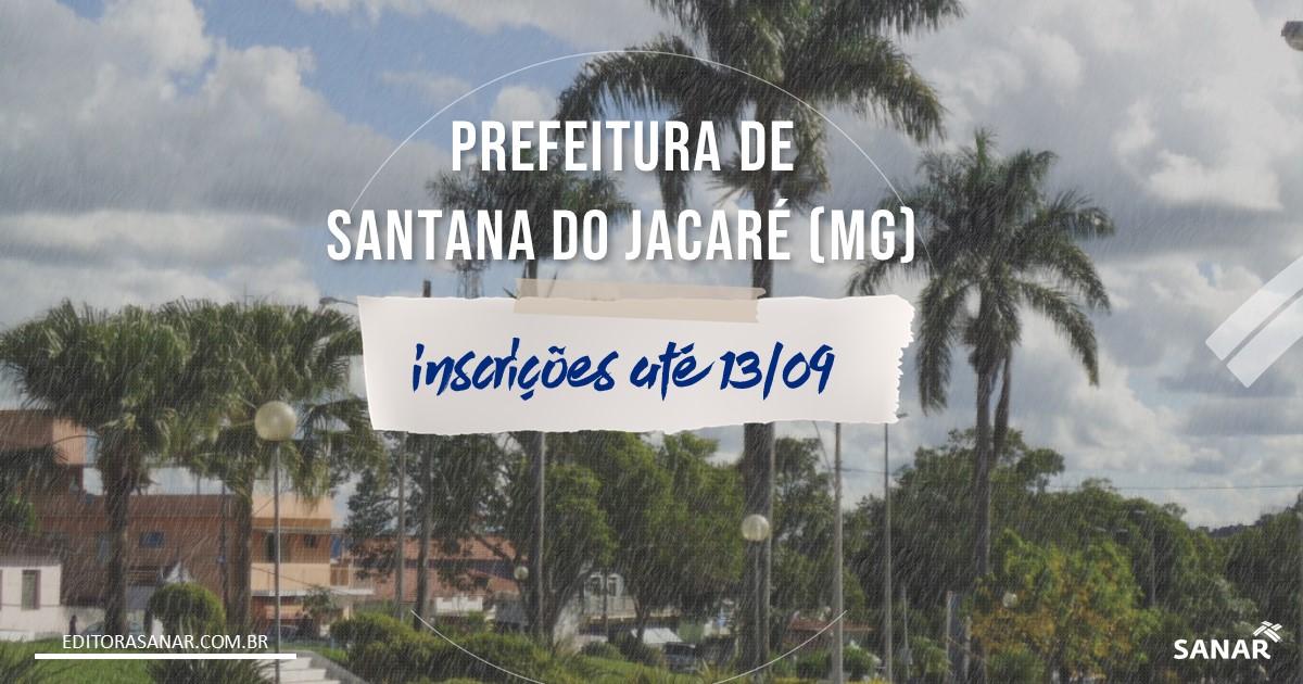 Concurso de Santana do Jacaré - MG: 15 vagas para a Saúde!