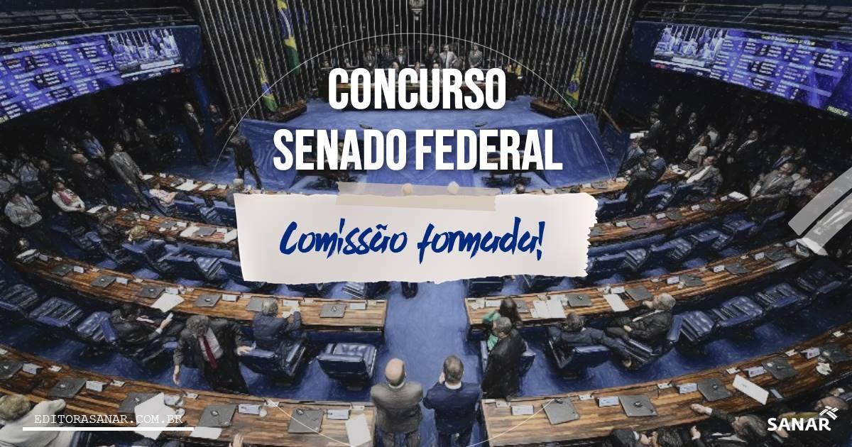 Concurso Senado Federal AUTORIZADO: iniciais de R$24 mil na Saúde!