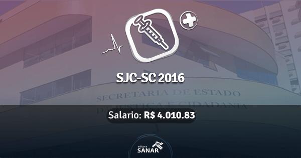 Secretaria de Estado da Justiça e Cidadania de Santa Catarina abre concurso com vagas para Enfermeiros
