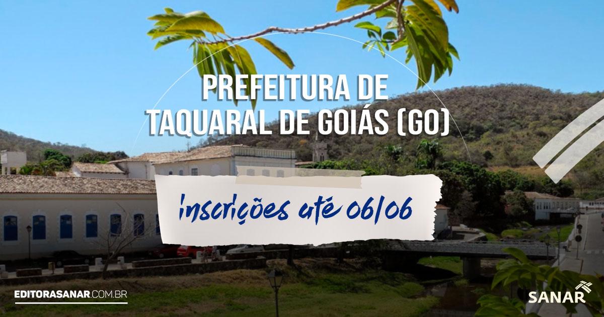 Concurso da Prefeitura de Taquaral de Goiás - GO: Salários de até R$8 mil na Saúde