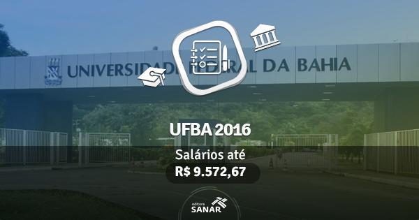 UFBA abre edital com vagas para Médico do Trabalho, Psicologia, Veterinário e Fisioterapeuta