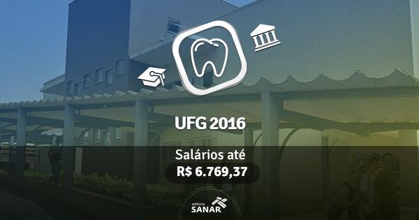 UFG 2016 abre vagas para Dentistas