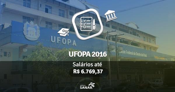 UFOPA abre concurso com vagas para Nutrição, Enfermagem, Farmácia e Medicina