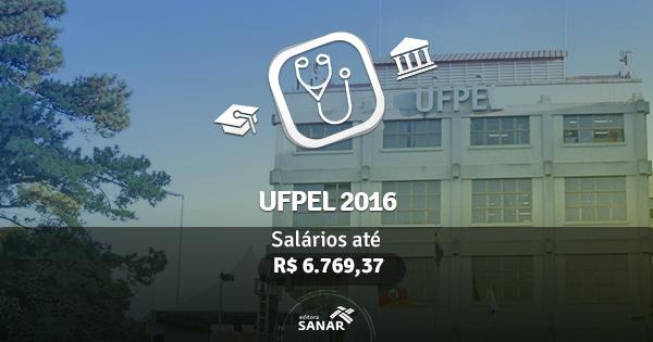UFPEL (RS) 2016 abre vagas para médicos