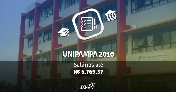 Unipampa abre concurso com vagas para Fisioterapeuta, Veterinário e Enfermeiro