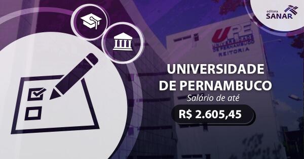 Concurso UPE 2017 é Autorizado