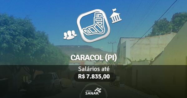 Prefeitura de Caracol (PI) abre vagas para Fisioterapeutas