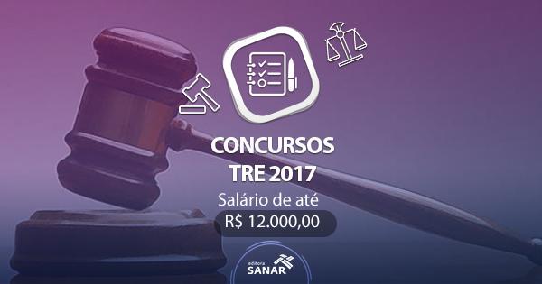 Concursos TRE 2017: oportunidades para Enfermagem, Nutrição, Psicologia, Medicina e mais
