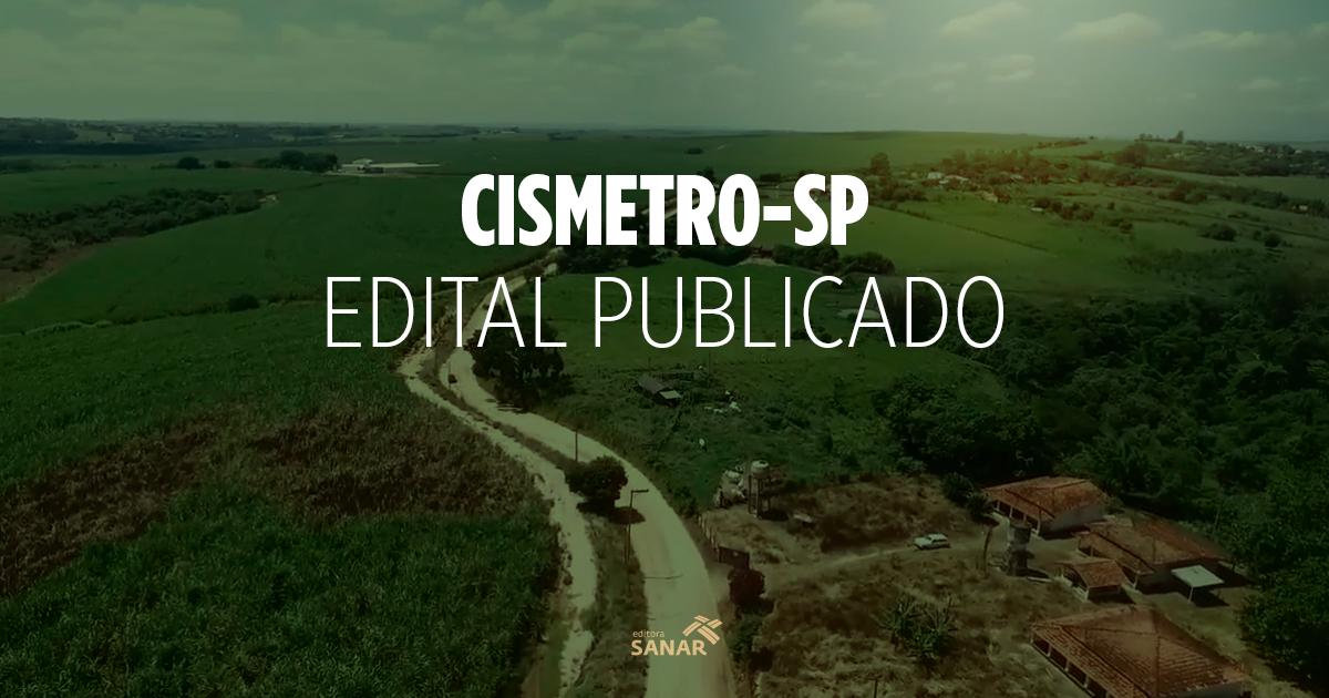 Concurso CISMETRO-SP: edital publicado com vagas para saúde