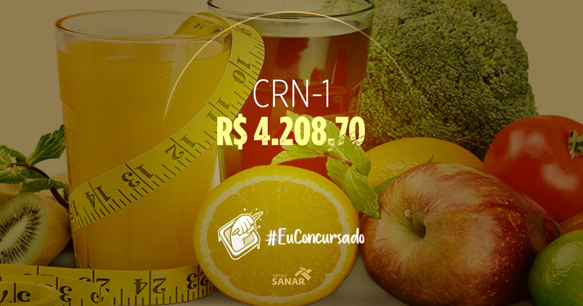 CRN1: Processo Seletivo abre vagas para Nutricionistas no Mato Grosso