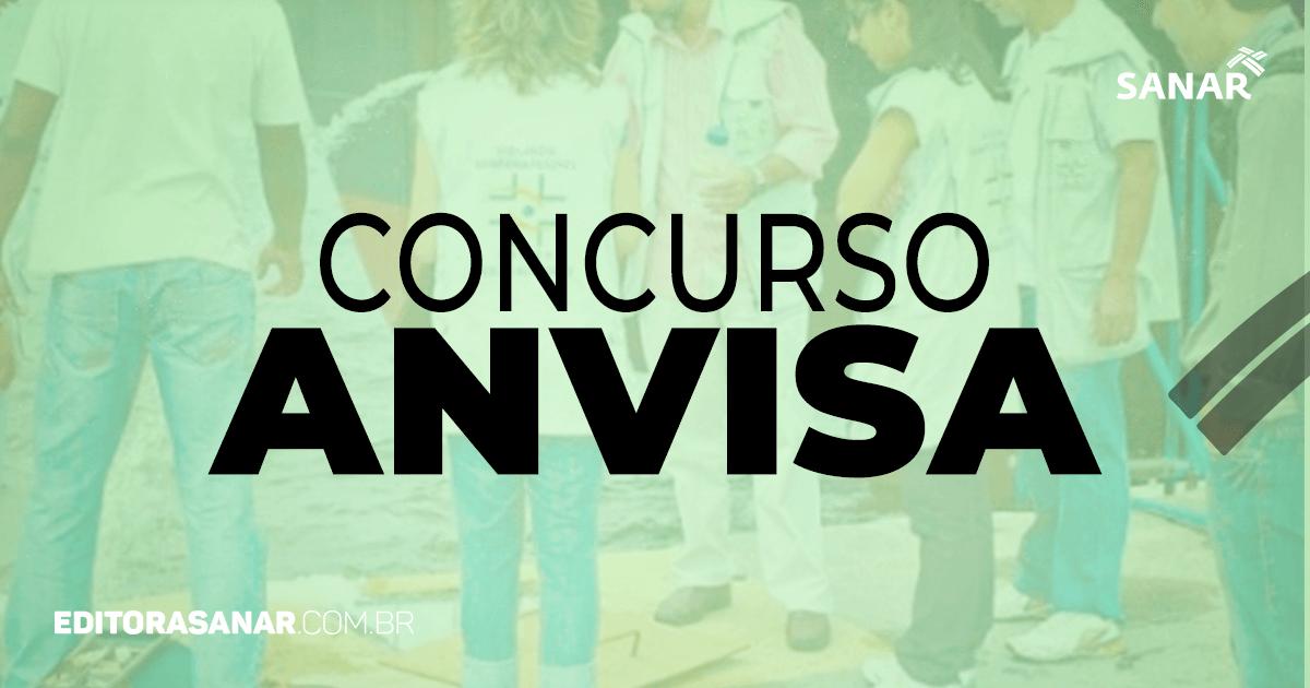 Concurso ANVISA: nova solicitação deve sair em breve