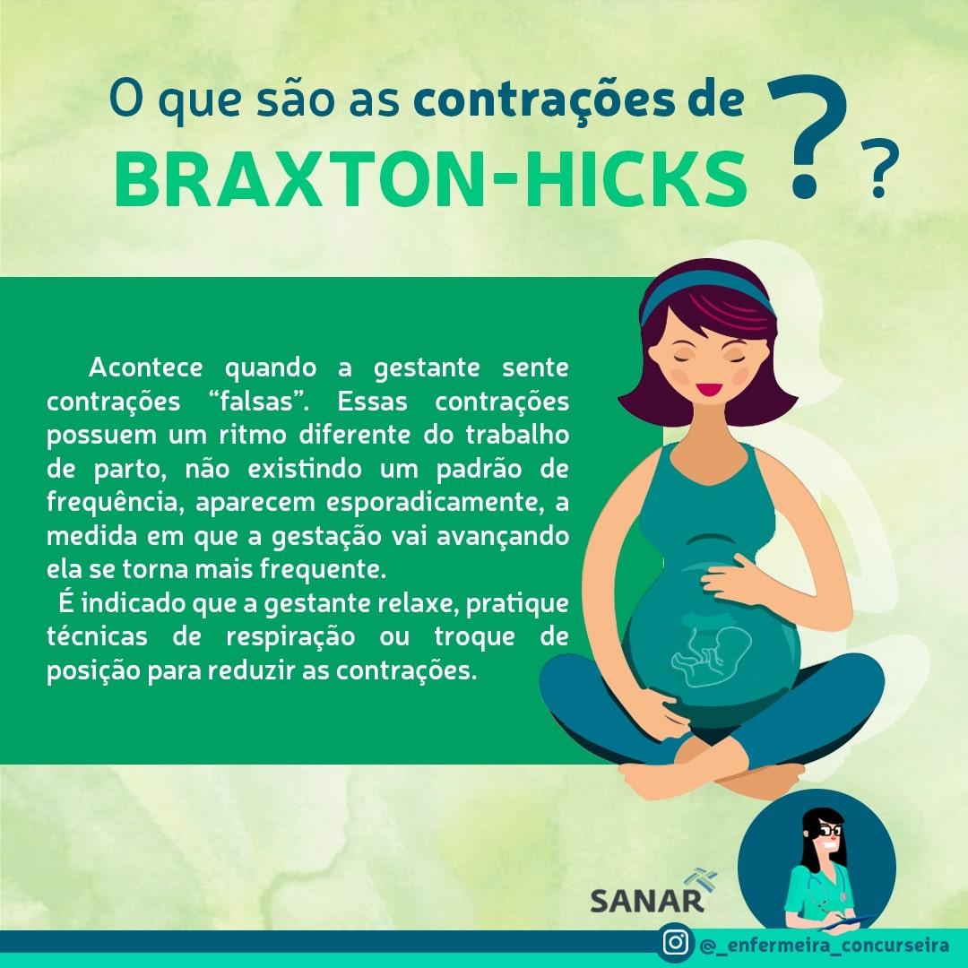 Resumo de Concentração de Braxon-Hicks | Enfermagem