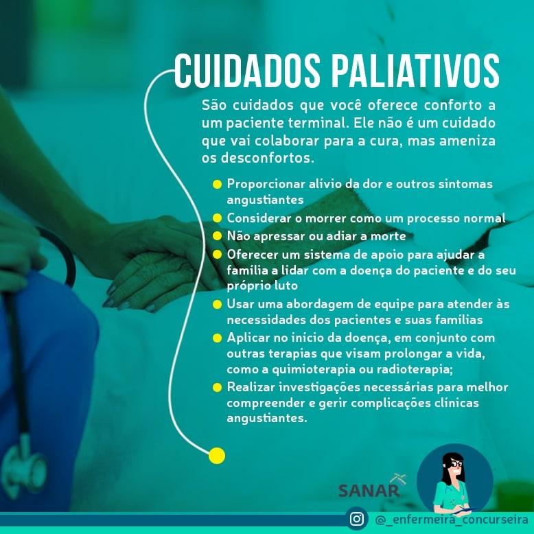 Resumo de Cuidados Paliativos | Enfermagem