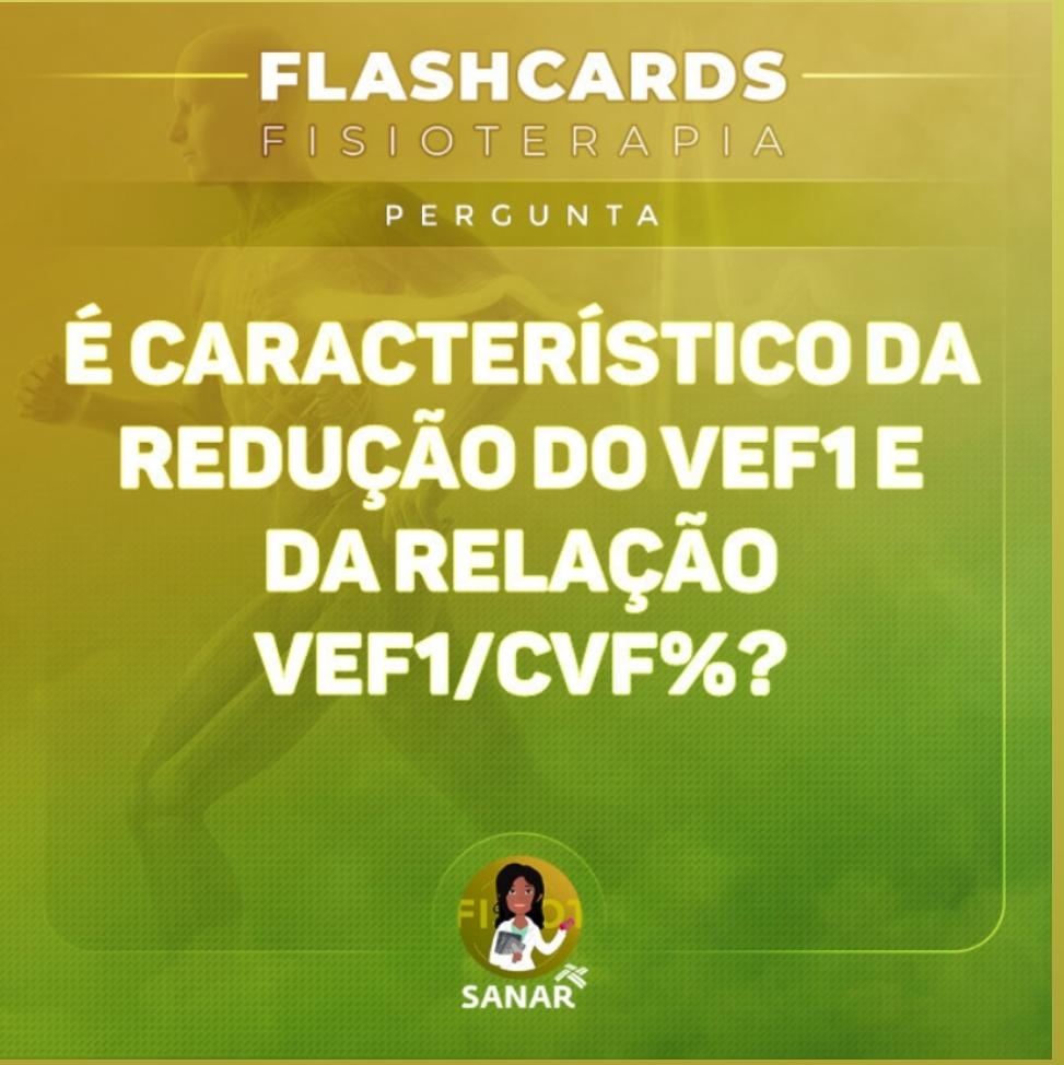 Flaschcard de VEF | Fisioterapia