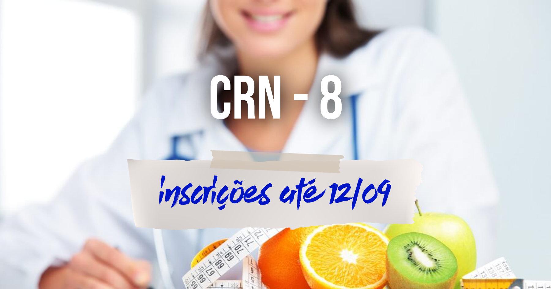 Concurso | CRN-8 oferece 60 oportunidades para Nutricionistas